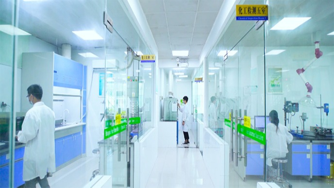 科研人员及设备