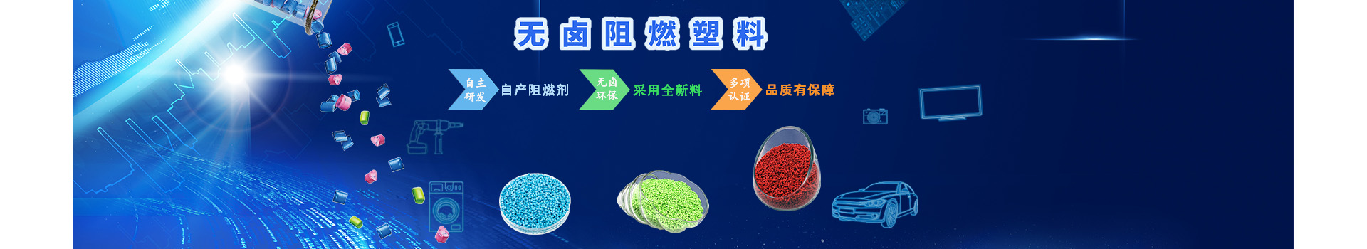 聚石化学-阻燃塑料问答banner图