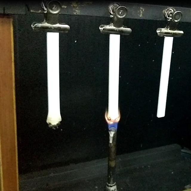 UL746C阻燃测试与判定