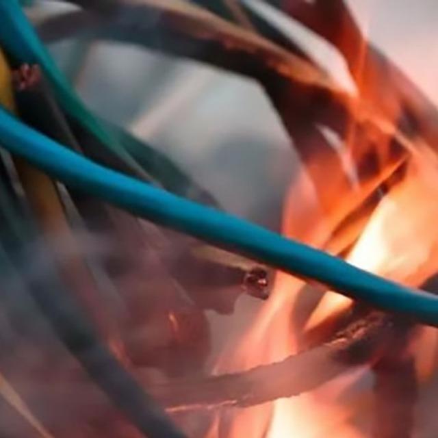 低烟无卤电线与传统的PVC电线的对比