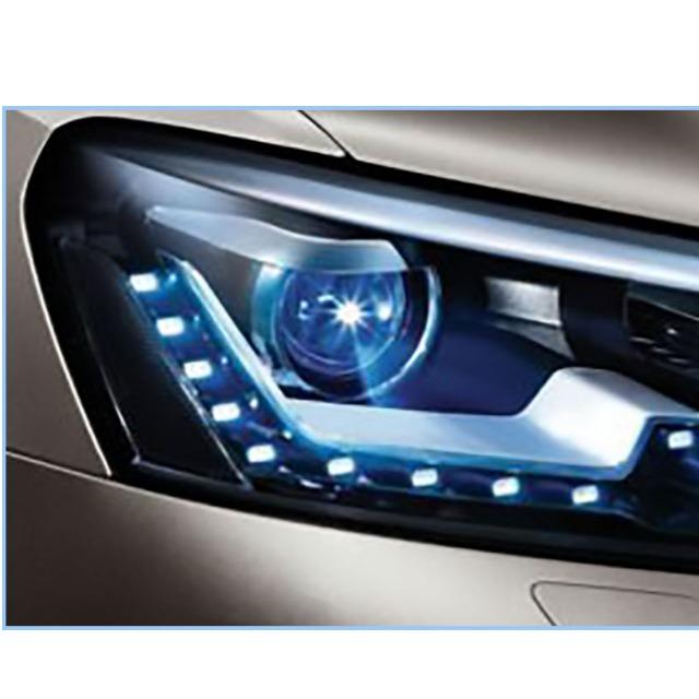 车灯塑料材料的物性对比表