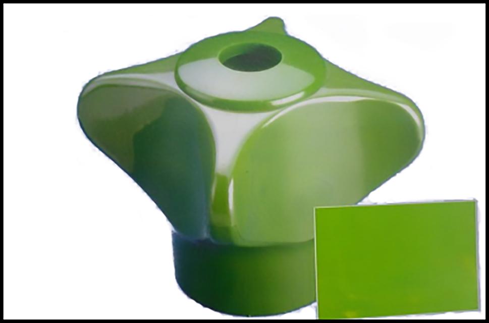 100-色差痕:塑化系统混料不均