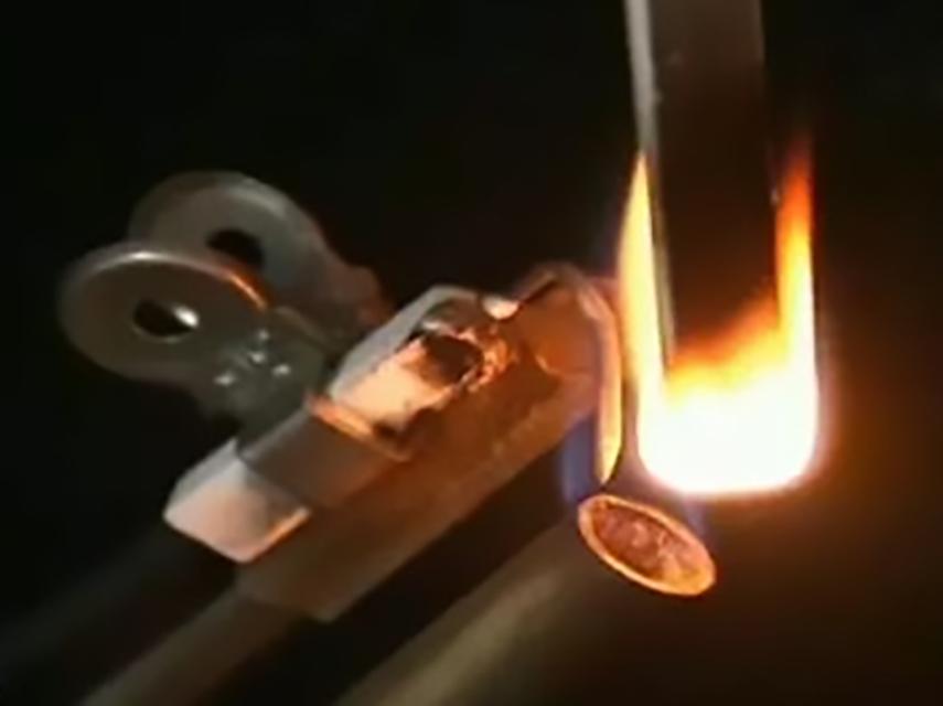 363-打火机测试样条阻燃性