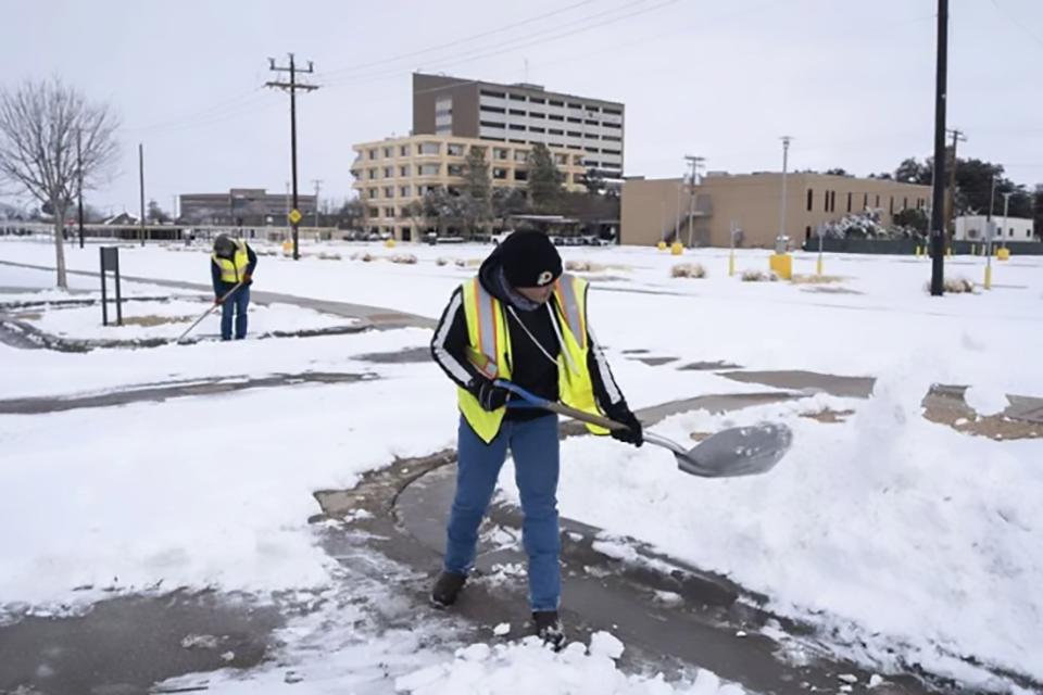 080-美国得克萨斯州雪灾