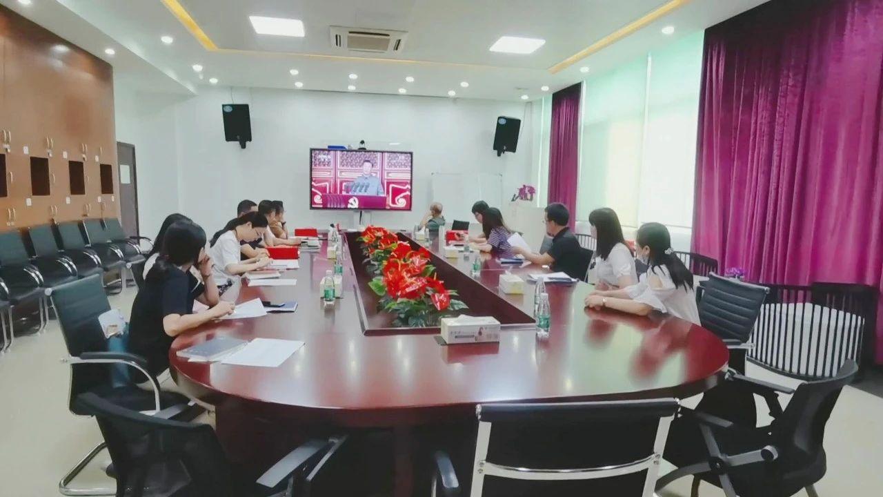 02-聚石化学党支部党员干部观看庆祝大会