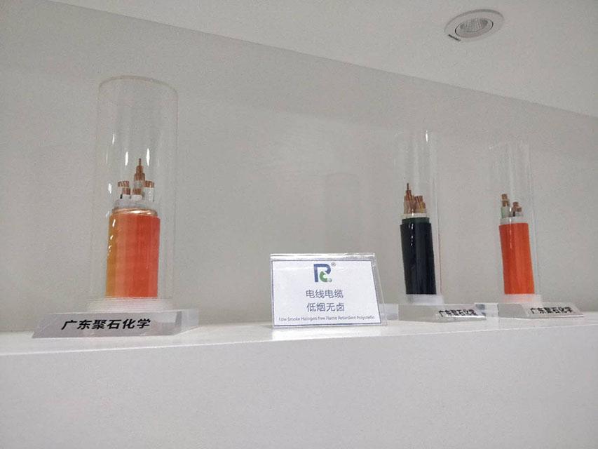 168-聚石化学线缆展品