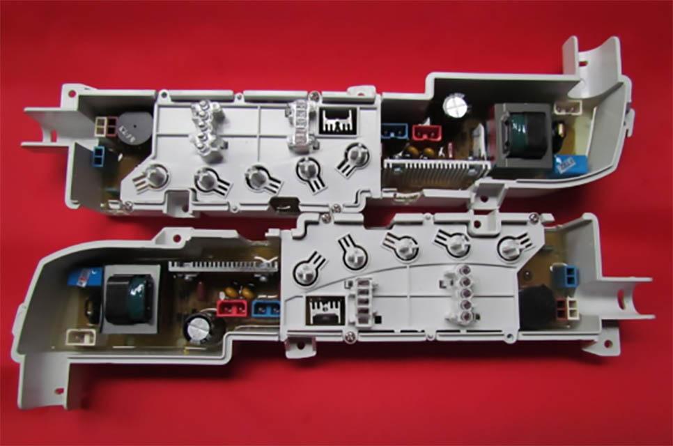 135-洗衣机控制盘座