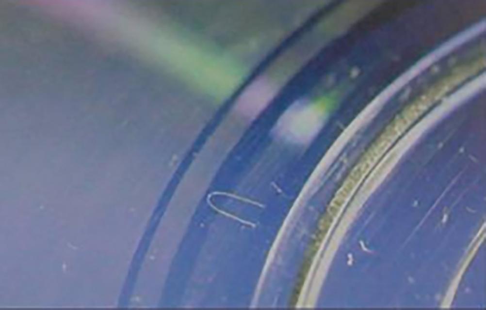 059-料花气痕03-厚薄胶位变化大处困气