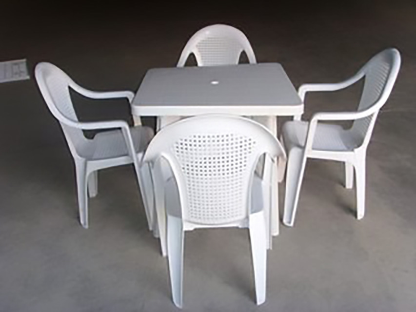 122-PP耐寒增韧改性制品-PP户外桌椅