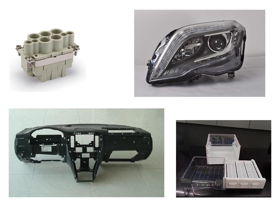 065-PC应用范围(连接器、冰箱抽屉、仪表板、车灯)