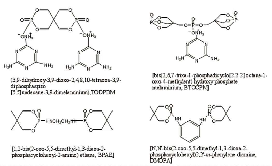 082-IFR聚合物分子结构