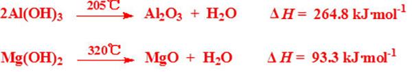 060-01无机阻燃剂(氢氧化铝、氢氧化镁)阻燃机理