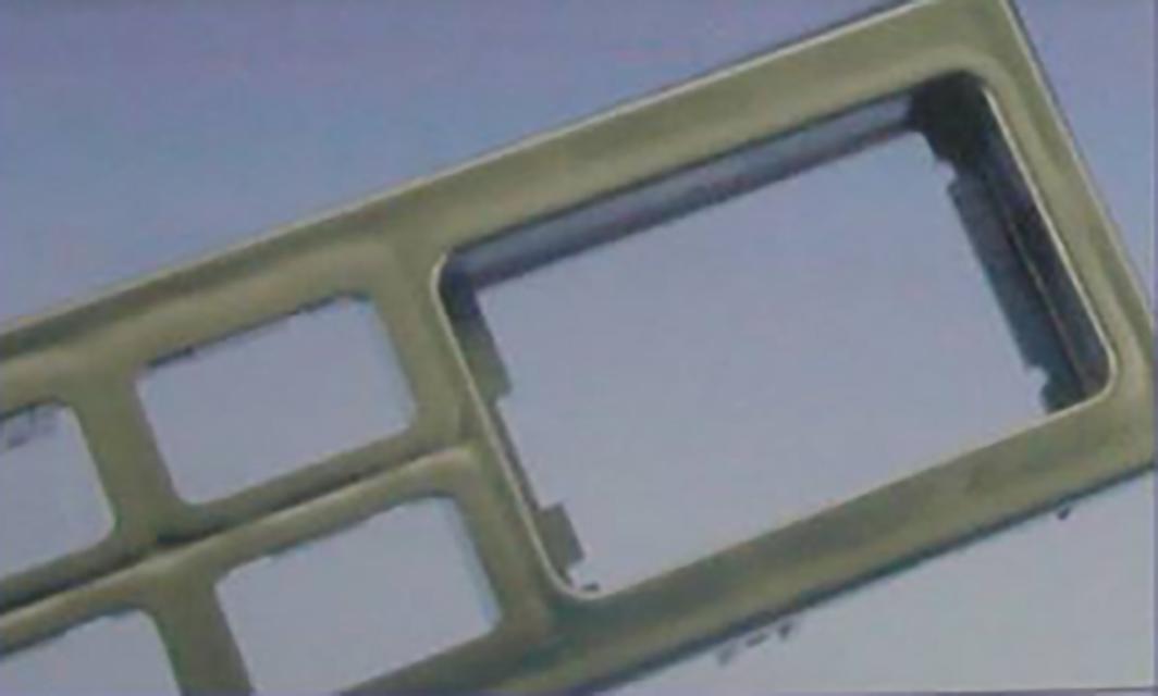 046-注塑缩水缺陷02:加强筋附近收缩